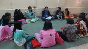 This is the weekly girls' outreach ministry conducted by Sis Susan in her hometown. The girls come for the bible study to find out more about Christ.